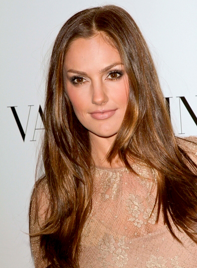 Minka Kelly's Long, Tousled, Romantic Hairstyle