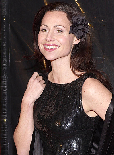 Minnie Driver Long, Wavy, Party Hairstyle