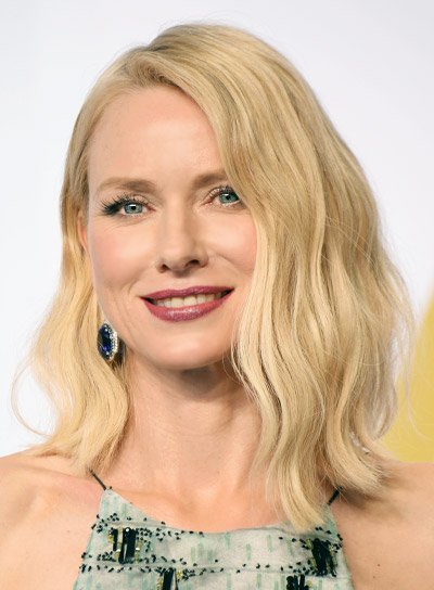Naomi Watts with a Medium, Wavy, Blonde, Sexy Hairstyle