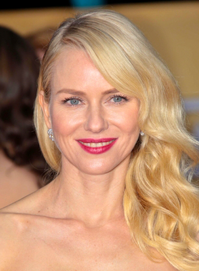 Naomi Watts' Blonde, Long, Romantic, Wavy Hairstyle