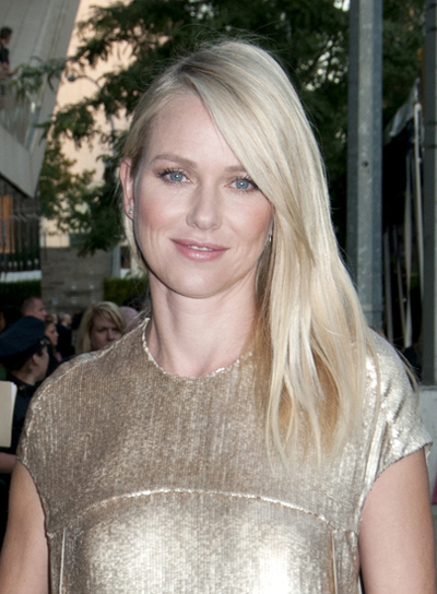 Naomi Watts Long, Straight, Blonde Hairstyle