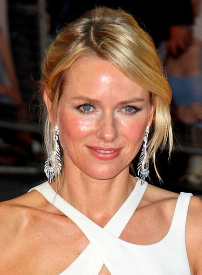 Naomi Watts' Sophisticated, Chic, Blonde, Updo Hairstyle