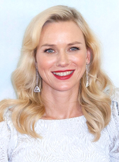 Naomi Watts' Sophisticated, Romantic, Wavy, Blonde, Hairstyle