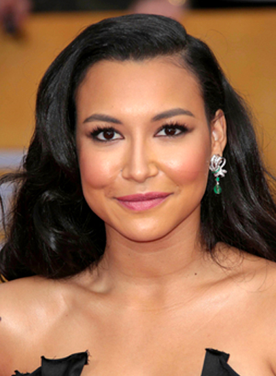 Naya Rivera's Long, Black, Wavy, Chic Hairstyle