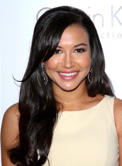 Naya Rivera's Long, Black, Romantic, Wavy Hairstyle