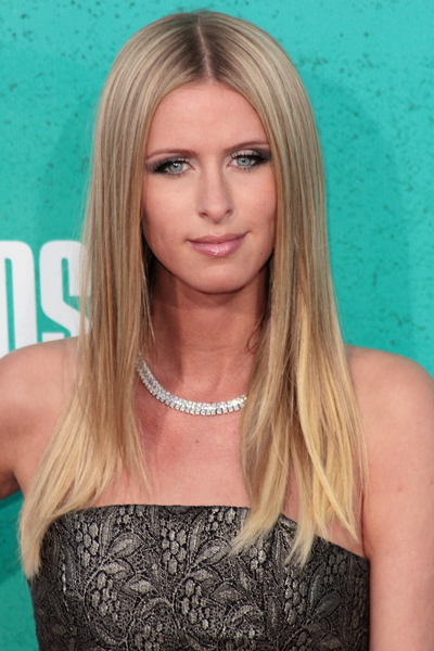 Nicky Hilton's Long, Chic, Straight, Blonde Hairstyle