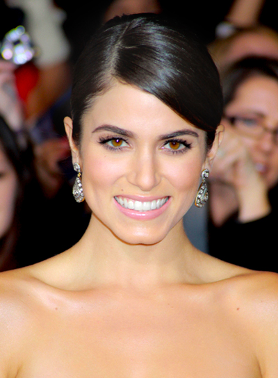 Nikki Reed's Black, Chic, Sophisticated, Updo, Hairstyle
