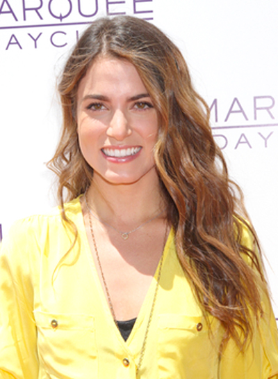 Nikki Reed's Long, Wavy, Romantic Hairstyle