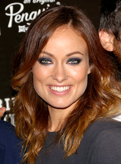 Olivia Wilde's Long, Layered, Brunette, Sexy Hairstyle
