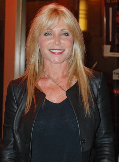 Pamela Bach Long, Straight, Blonde Hairstyle with Bangs