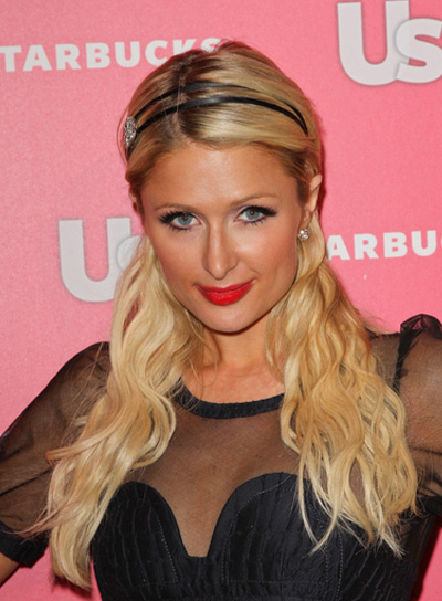 Paris Hilton Long, Wavy, Chic Hairstyle