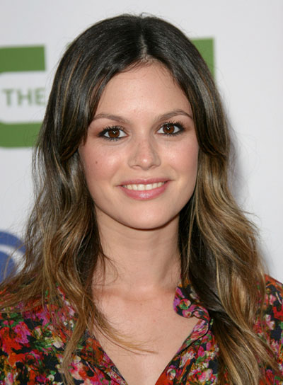 Rachel Bilson's Wavy, Romantic Hairstyle with Highlights