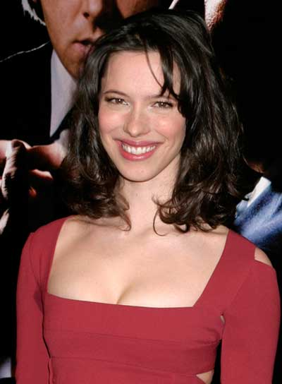 Rebecca Hall Medium, Wavy, Brunette Hairstyle