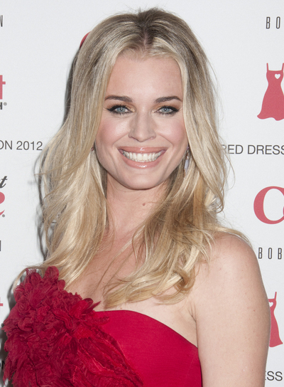 Rebecca Romijn Long, Sexy, Tousled, Blonde Hairstyle