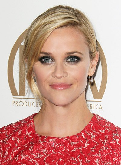 Reese Witherspoon with a Sexy, Blonde, Tousled, Ponytail Hairstyle Pictures
