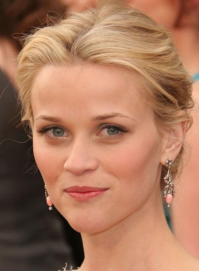 Reese Witherspoon Blonde Updo