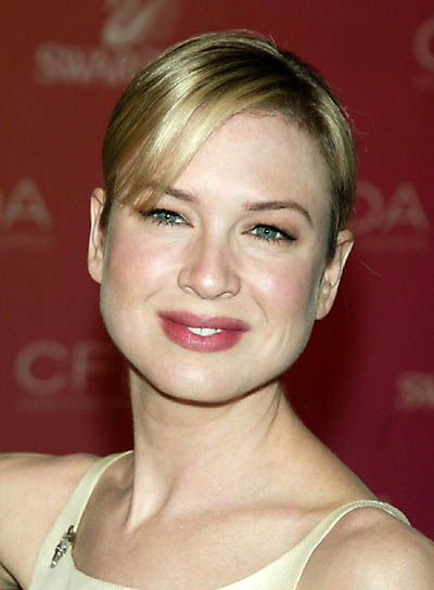Renee Zellweger Blonde Updo