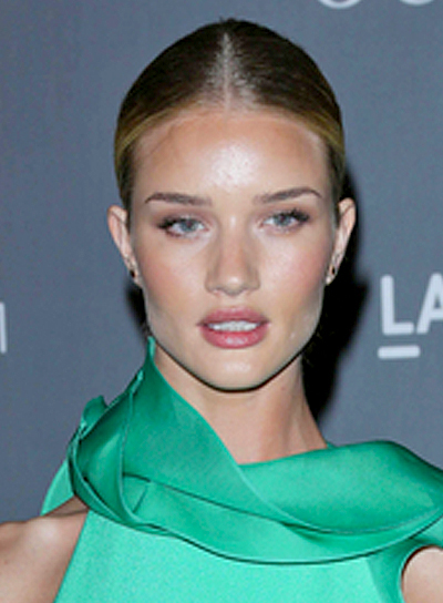 Rosie Huntington-Whiteley's Sexy, Chic, Party, Updo Hairstyle