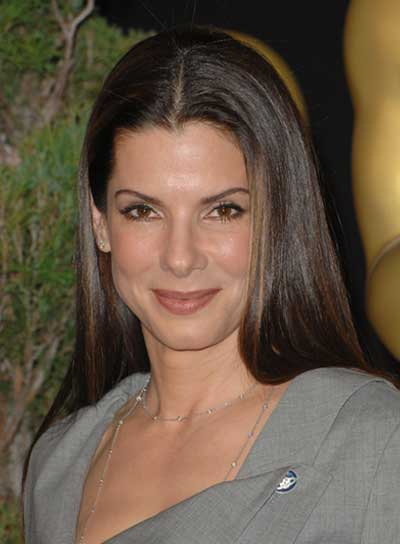 Sandra Bullock Straight, Sophisticated Hairstyle