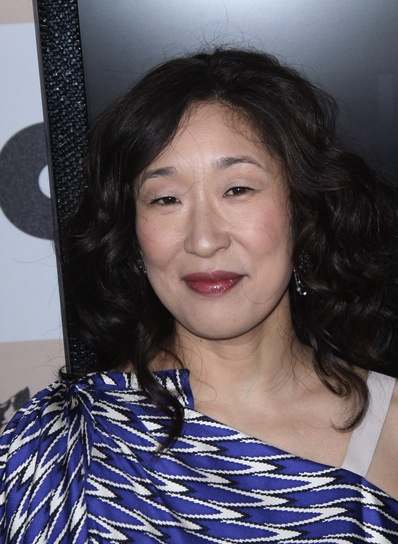 Sandra Oh Curly, Black Hairstyle