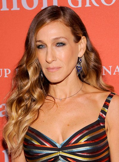 Sarah Jessica Parker's Long, Wavy, Sophisticated, Romantic Hairstyle