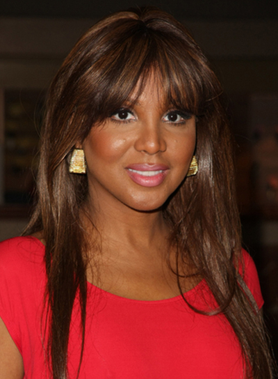 Toni Braxton Long, Straight, Chic, Sophisticated,