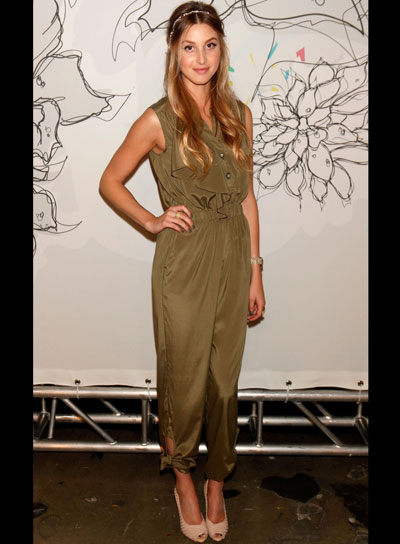 Whitney Port Long, Romantic, Wavy Hairstyle
