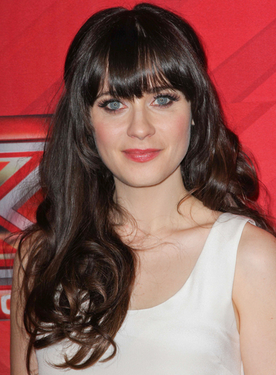 Incredible Long Brunette Hairstyles With Bangs Beauty Riot Short Hairstyles Gunalazisus